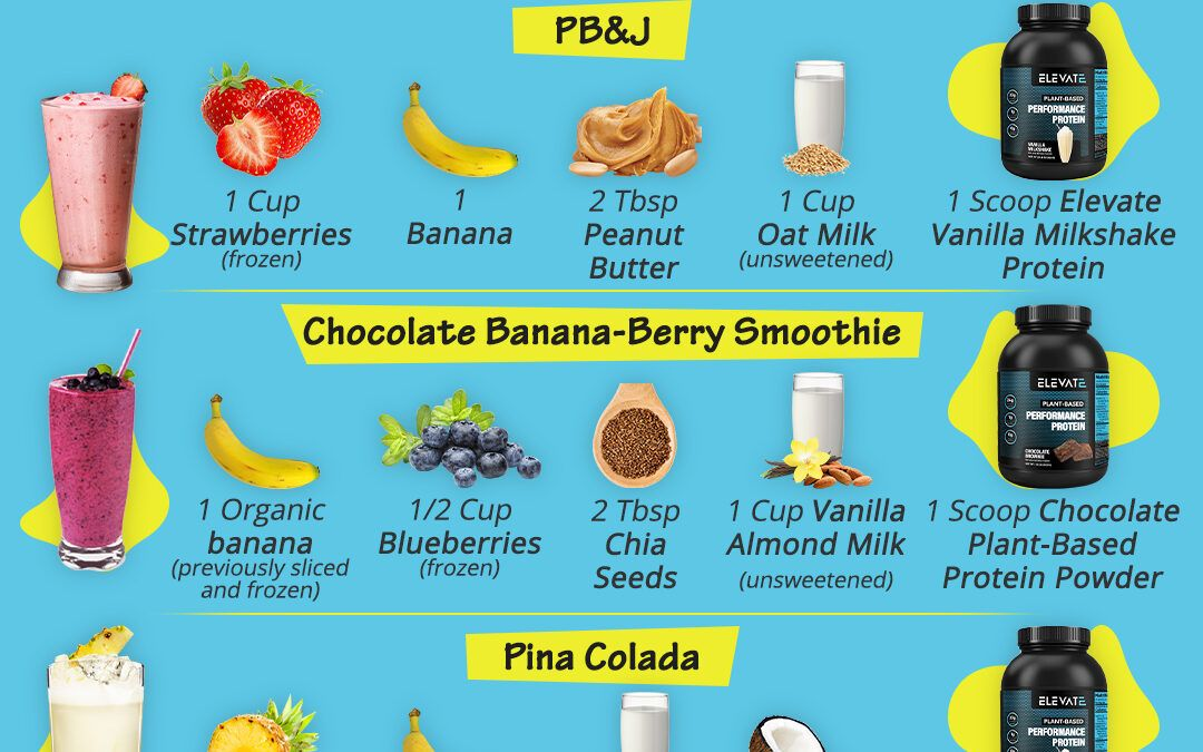 How To Create Fun And Healthy Protein Smoothies