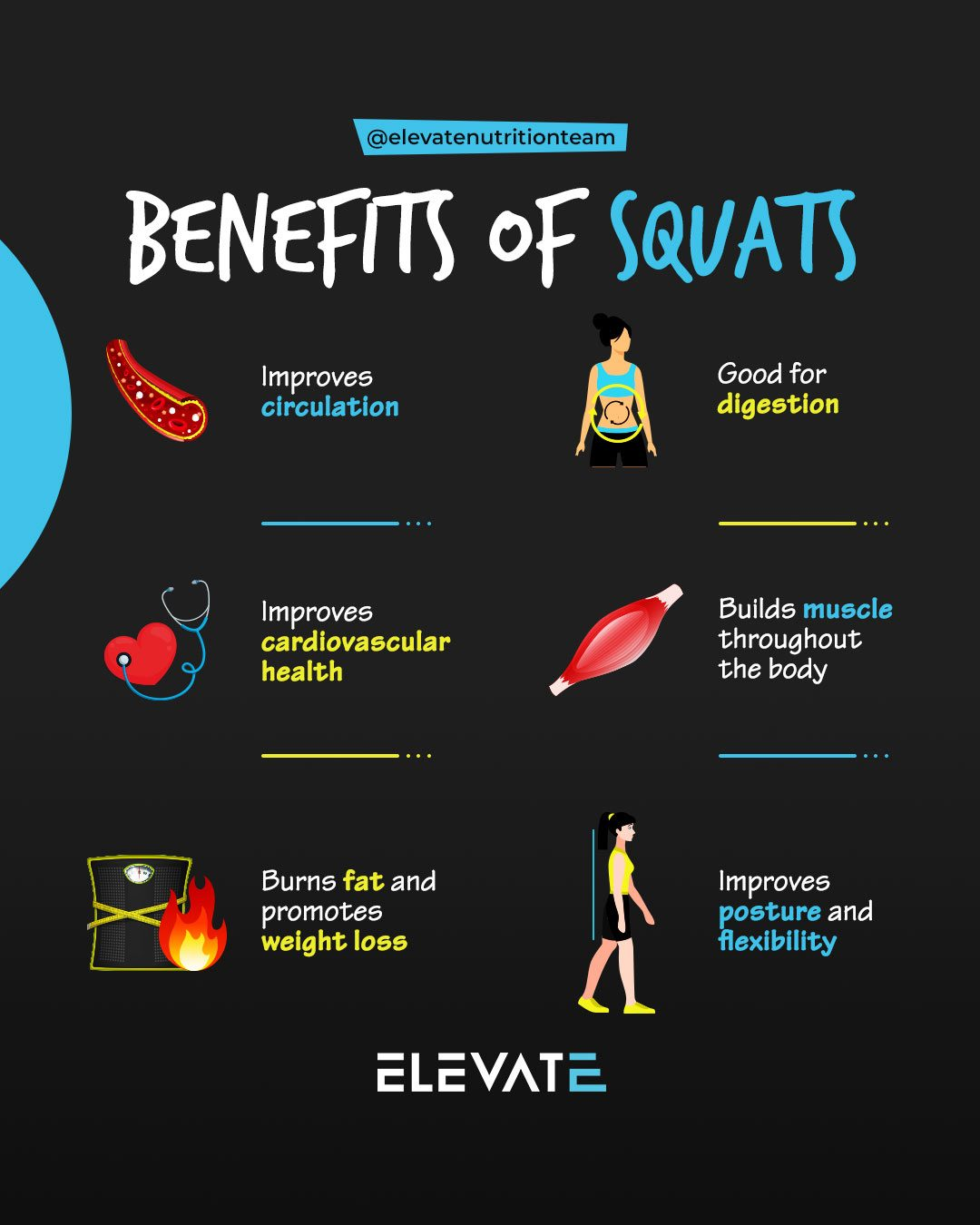 Elevate Nutrition Squat Guide Benefits of Squats