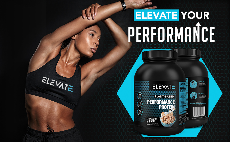 Elevate your performance cinnamon crunch