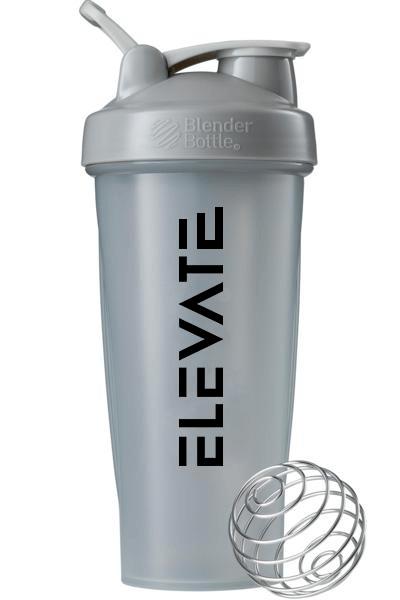 Elevate Grey Blender Bottle