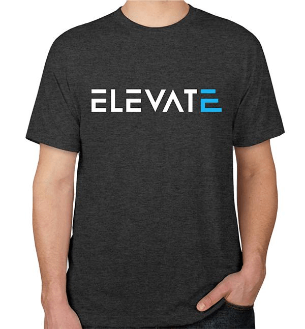 Elevate Nutrition T Shirt Elevate your Game 1