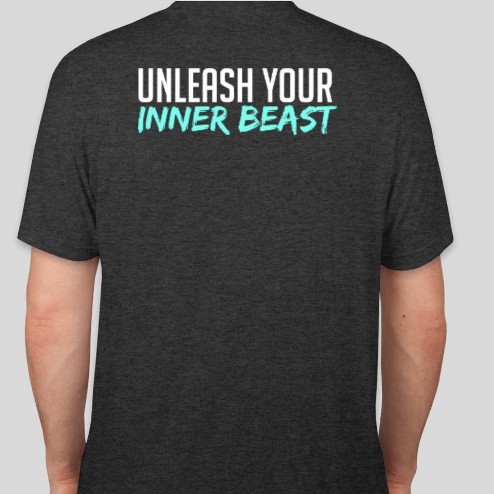 Elevate unleash your Inner Beast T Shirt Back 71319