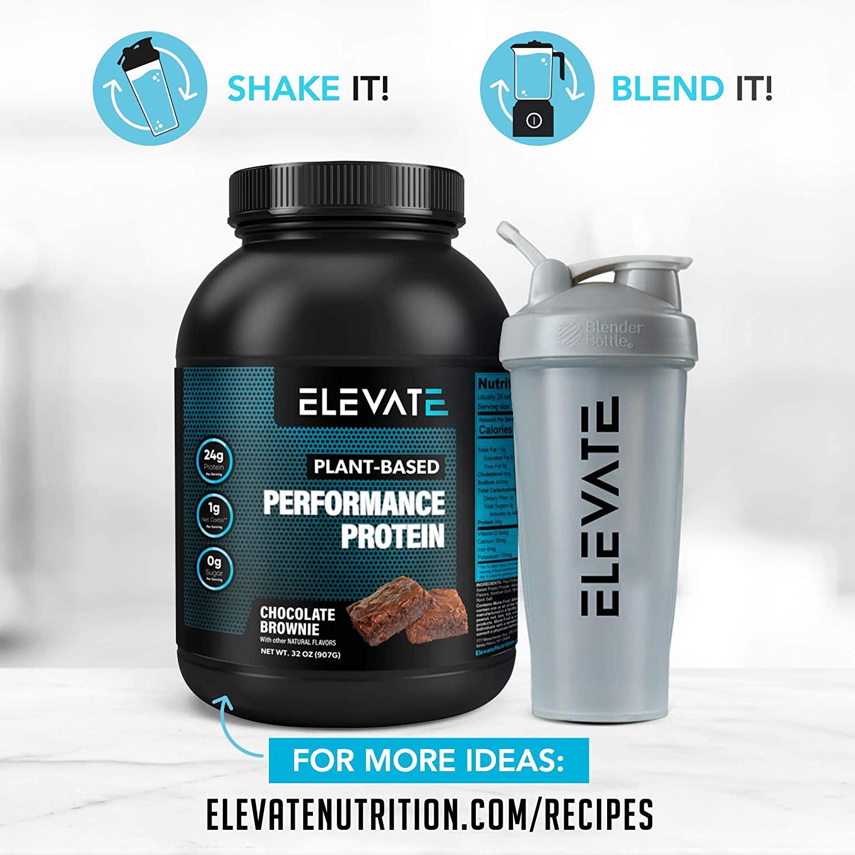 create-shakes-and-recipes-using-elevate-vegan-chocolate-protein-powder