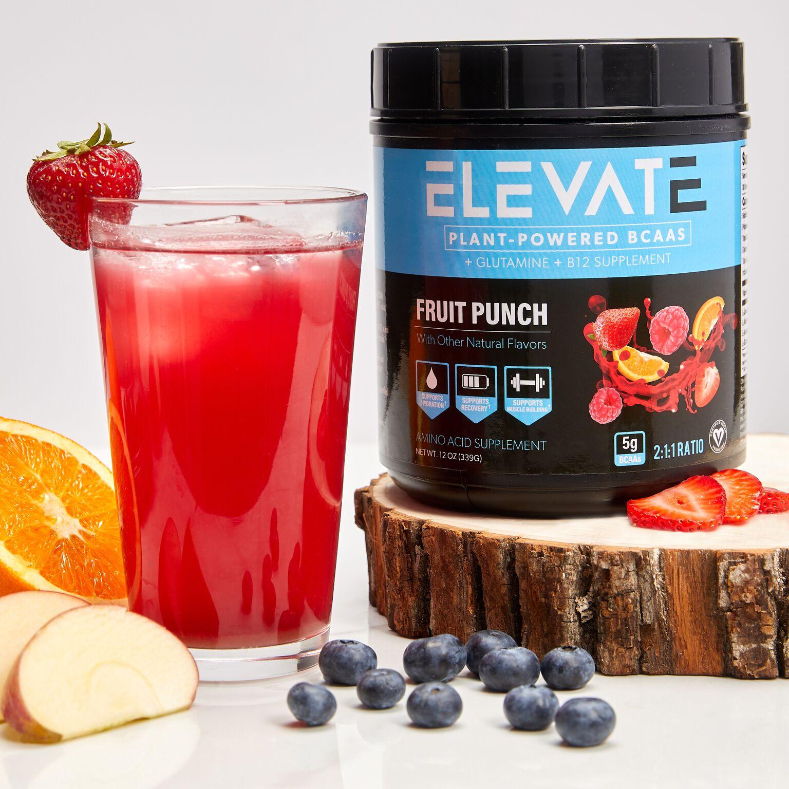 fruit punch plant based bcaa pop up