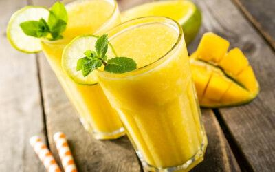 Mango Banana Protein Smoothie