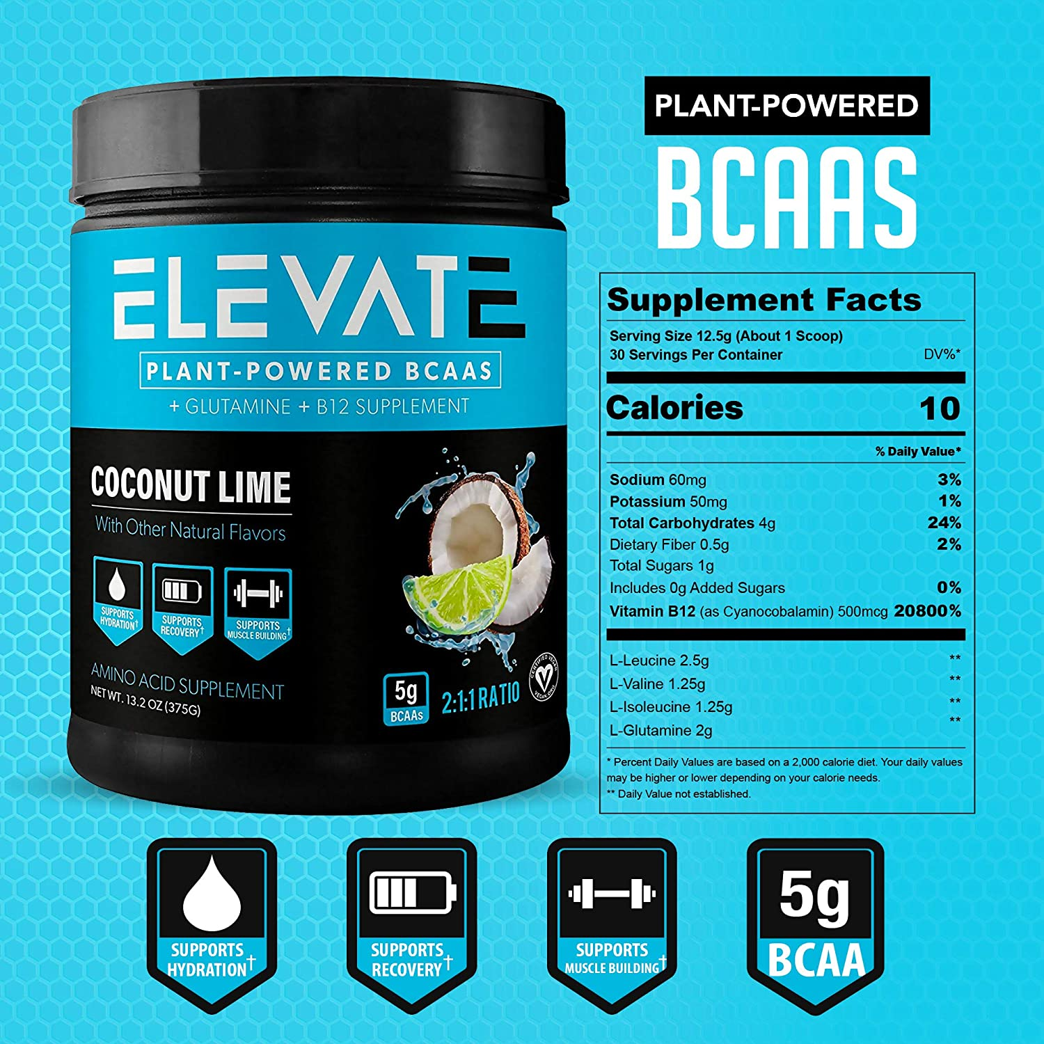 plant-based-BCAA-powder-coconut-lime-supplement-facts