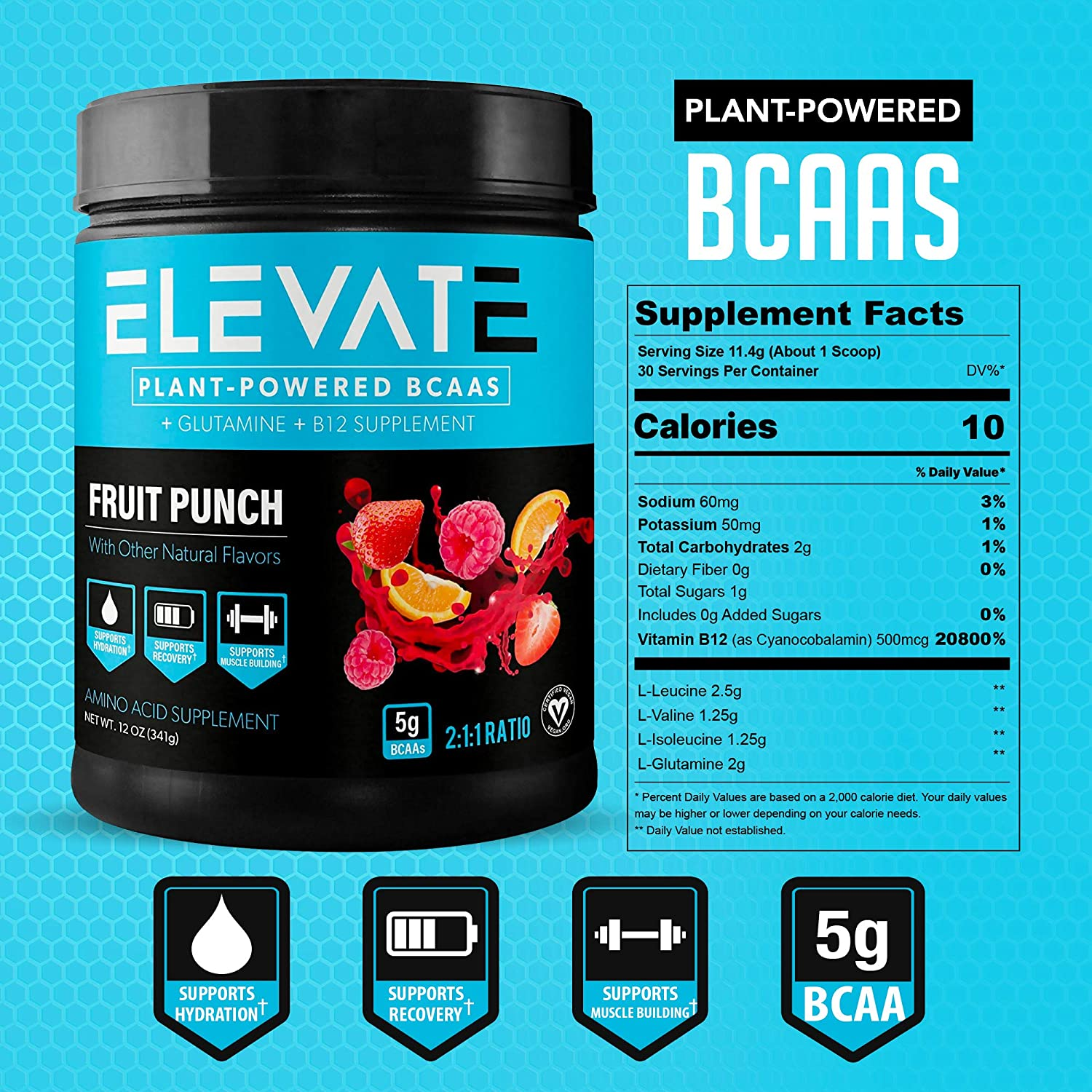 plant-based-BCAA-powder-fruit-punch-supplement-facts