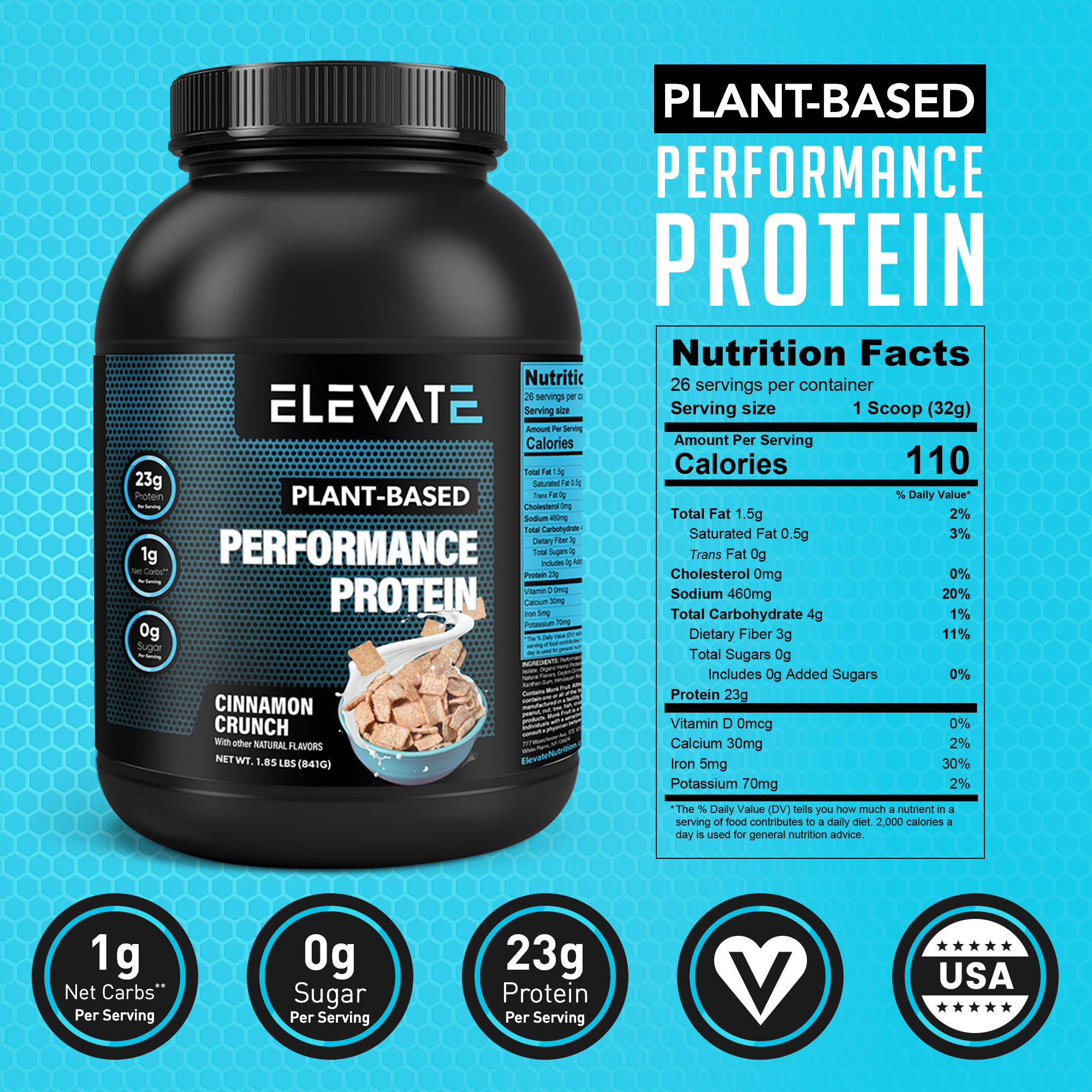 plant-based-performance-protein-cinnamon-crunch-nutrition-facts