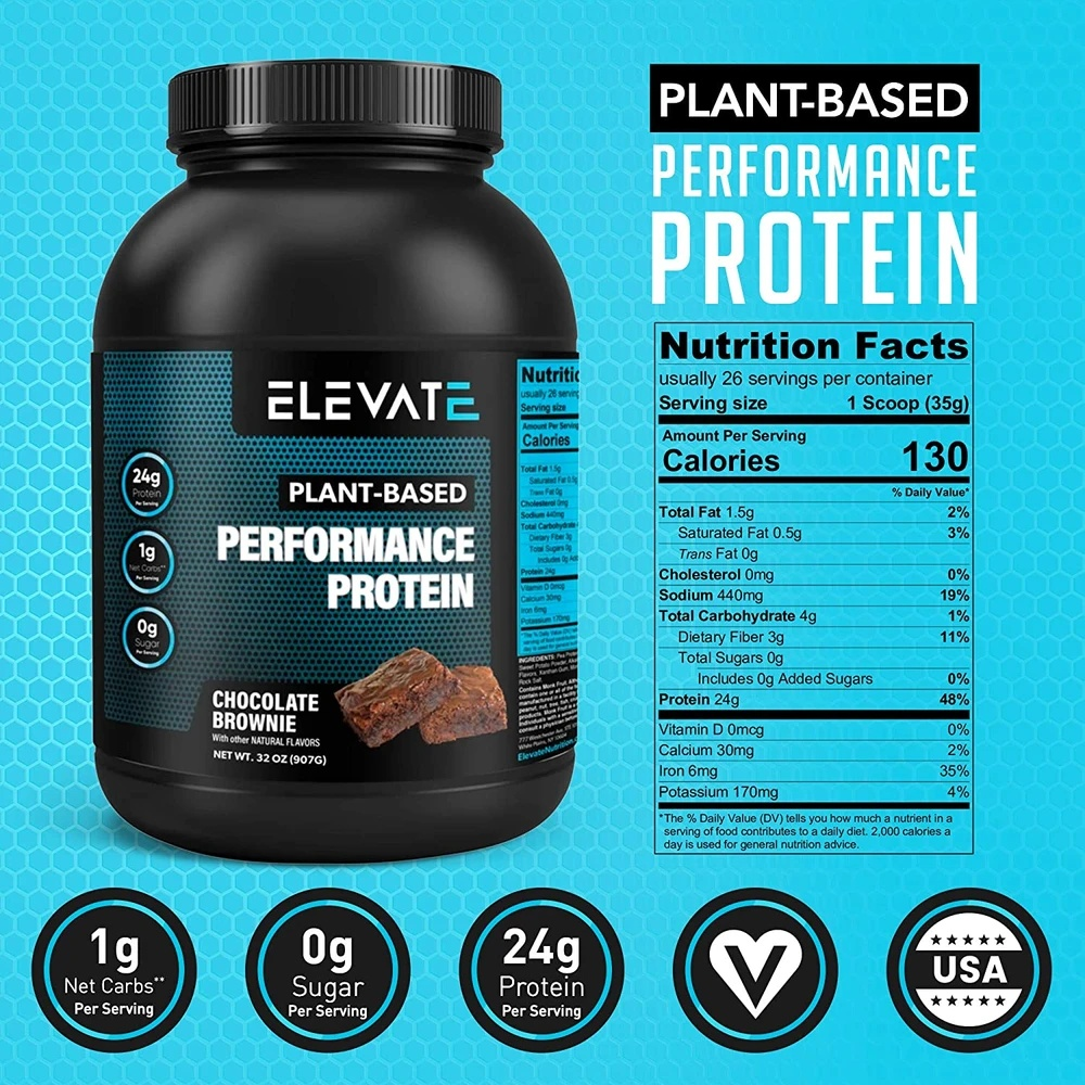 plant-based-performance-protein-chocolate-brownie-nutrition-facts