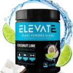 plant powered BCAA powder coconut lime by Elevate Nutrition