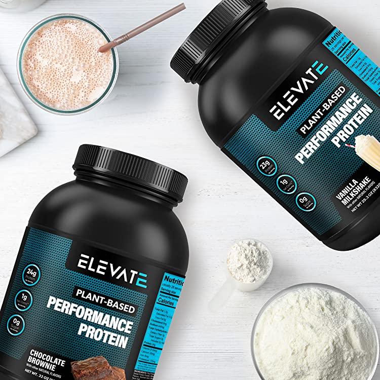 shop plant based vegan protein powders