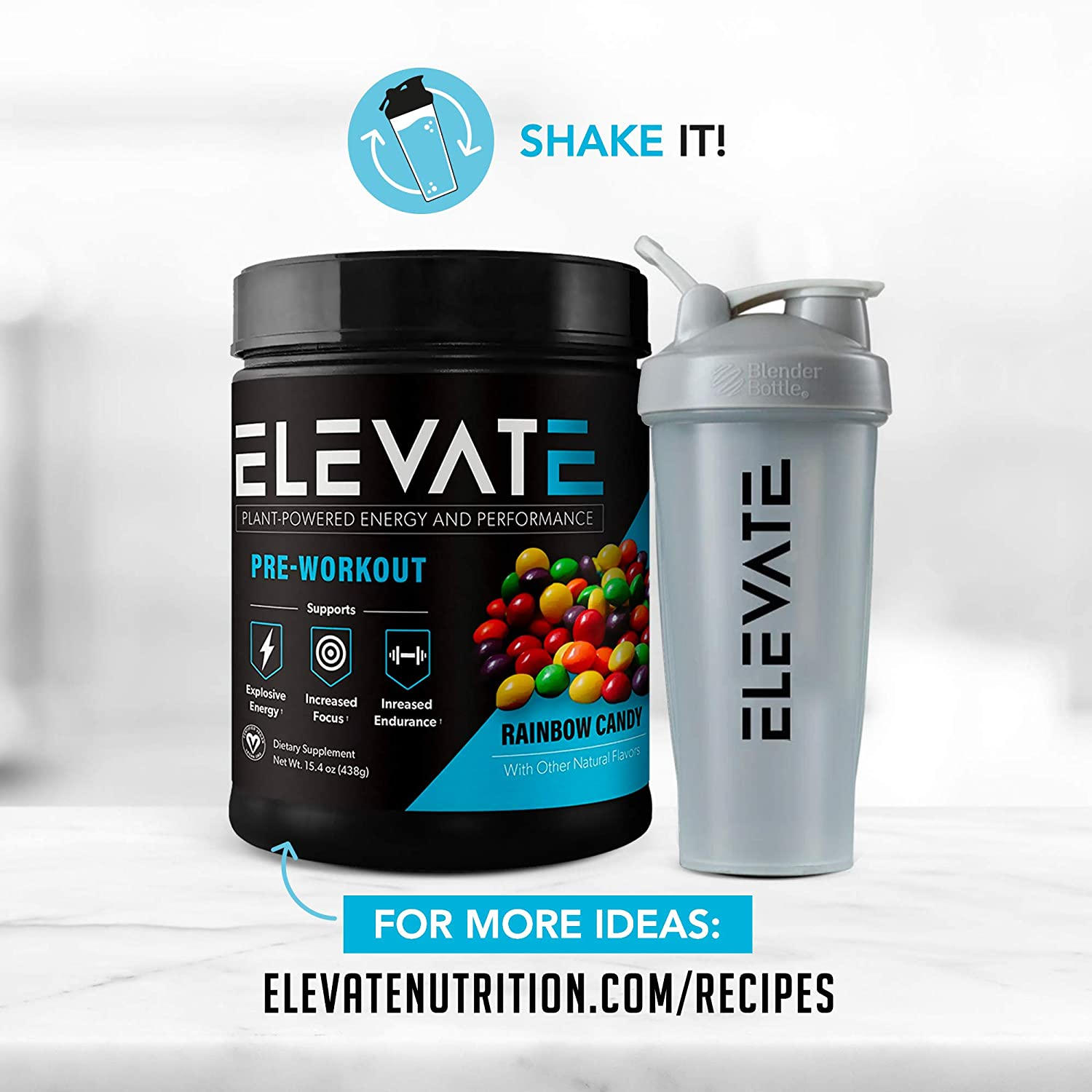 using-elevate-rainbow-candy-pre-workout-powder-before-workout