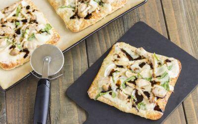Teriyaki Tofu Flatbread Pizza